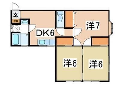 米沢市万世町の賃貸アパート3DK|フレンディーKAZ