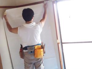 壁紙張り替えリフォーム・リノベーション - オーダーメイド賃貸郡山