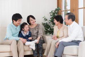 家族と相談