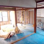 借家の間取りを変更!和室のふすまがなくなってとっても広い印象に