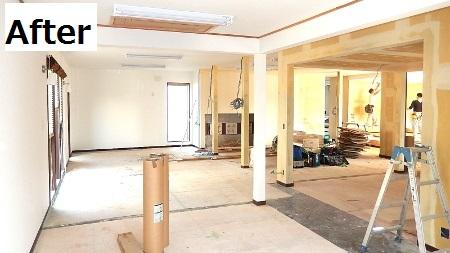 天井・柱・壁にクロス貼り付け完了♪事務所らしくなってきました!