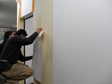 プロの技クロス壁紙貼り